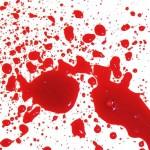ślady krwi po zmarłym